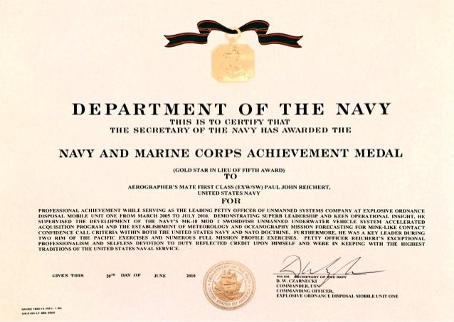 Navy achievement ribbon second award pictures to pin on