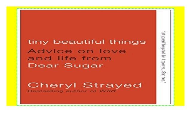 tiny beautiful things cheryl strayed pdf free