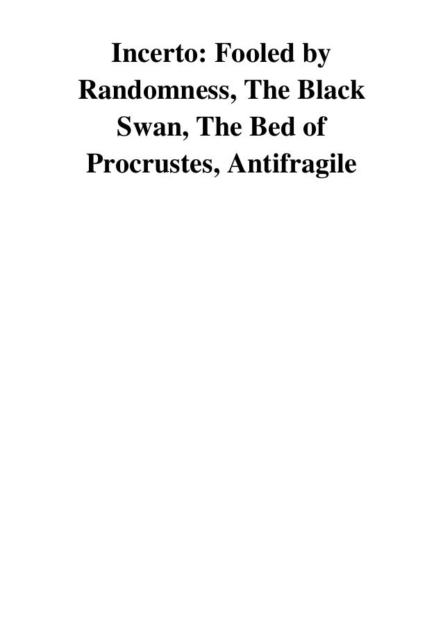 The Black Swan Nassim Taleb Pdf