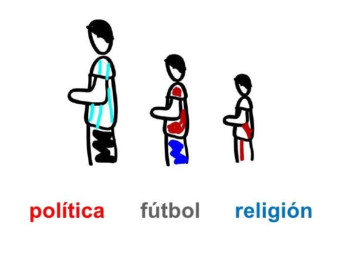 política   fútbol   religión