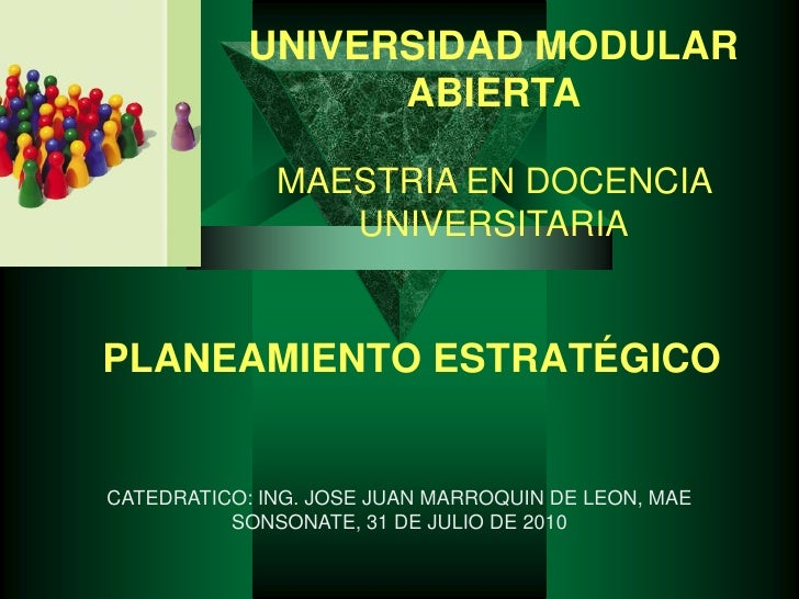 03 a metodologia planificacion estrategica