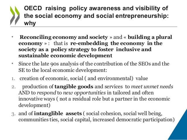Learning from outside the EU - What are other international organisations doing in the Social Economy Area? Slide 2
