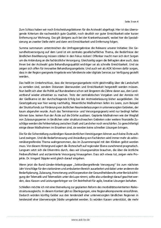 """Pressestatement von Martin Litsch (Vorstandsvorsitzender des AOK-Bundesverbandes) zur AOK-Initiative """"Stadt. Land. Gesund."""" Slide 3"""