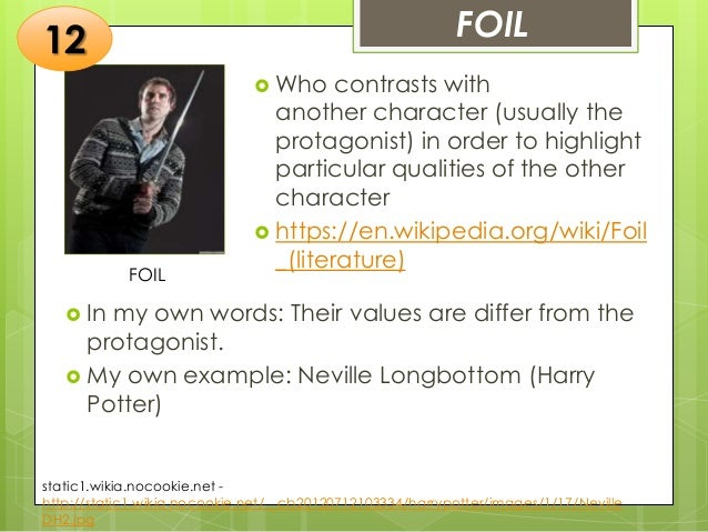 static character in literature