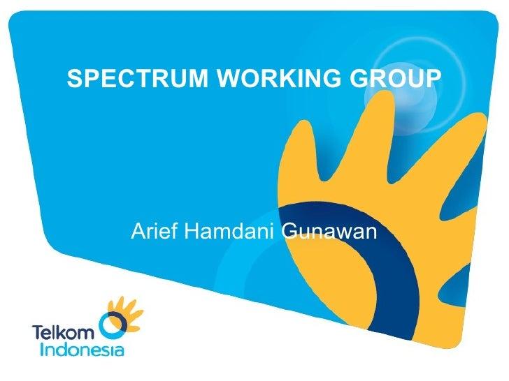Spectrum WG @ AWF-9