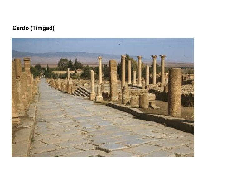 Cardo (Timgad)