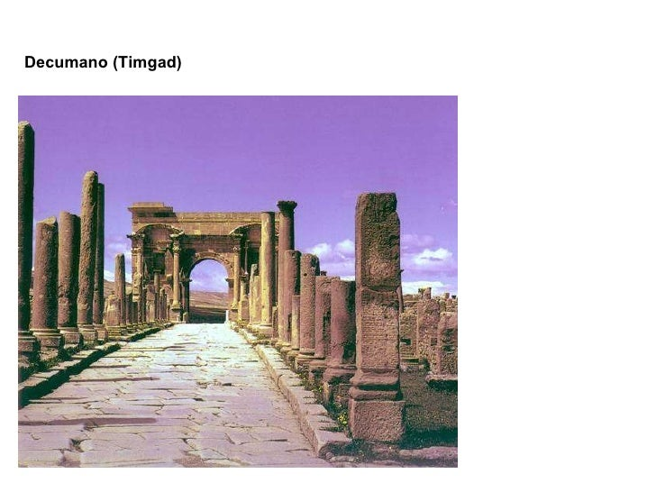 Decumano (Timgad)