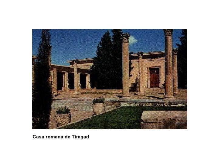 Casa romana de Timgad