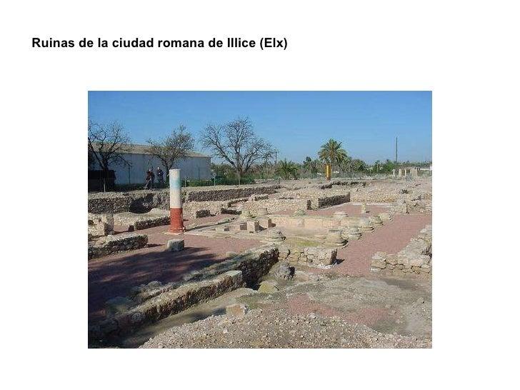 Ruinas de la ciudad romana de Illice (Elx)