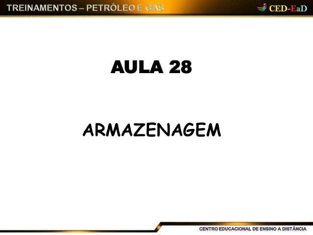 AULA 28 ARMAZENAGEM