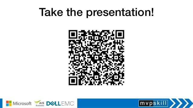 Take the presentation!