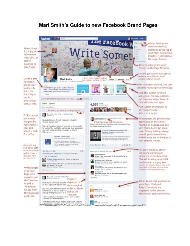 Mari Smith's Guide to new Facebook Brand Pages