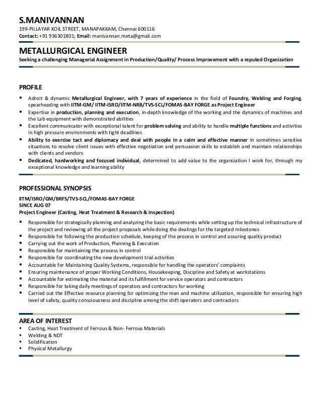 Manivannan Resume 3