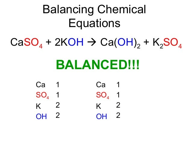 03 balancing chemical equations