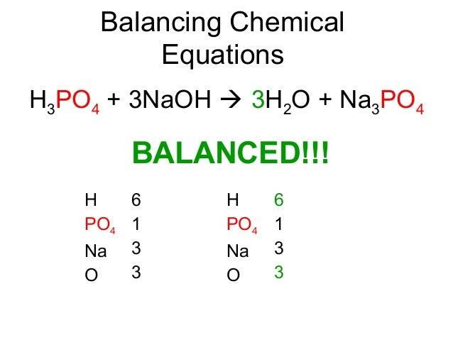 Balance as a model of an equation