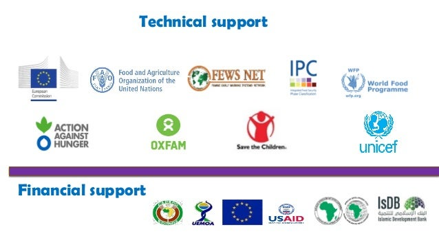 Technical support Financial support