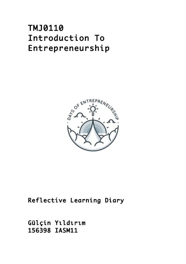 business communication reflective journal