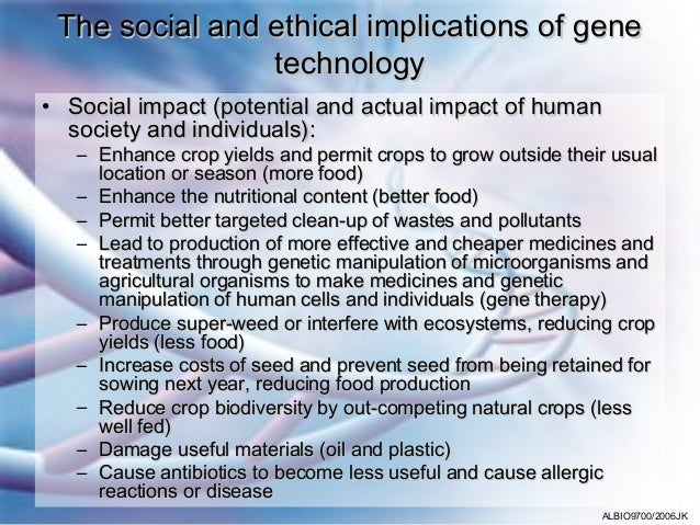 genetic technologies and relevant to ethical Be aware of the relevant ethical, legal, and social issues related to genetics in health care genetic specialists may be able to address patient concerns and questions regarding these issues.