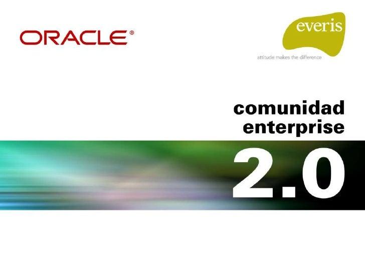 Preguntas y objetivos de la presentación  • ¿Información social o empresarial en la Web 2.0? • ¿Web 2.0 o Enterprise 2.0? ...