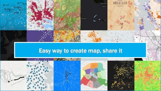 Easy way to create map, share it
