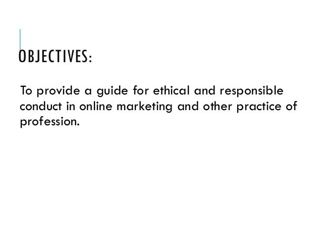 Code of Ethics and Responsibilities of Real Estate Practitioners Slide 3