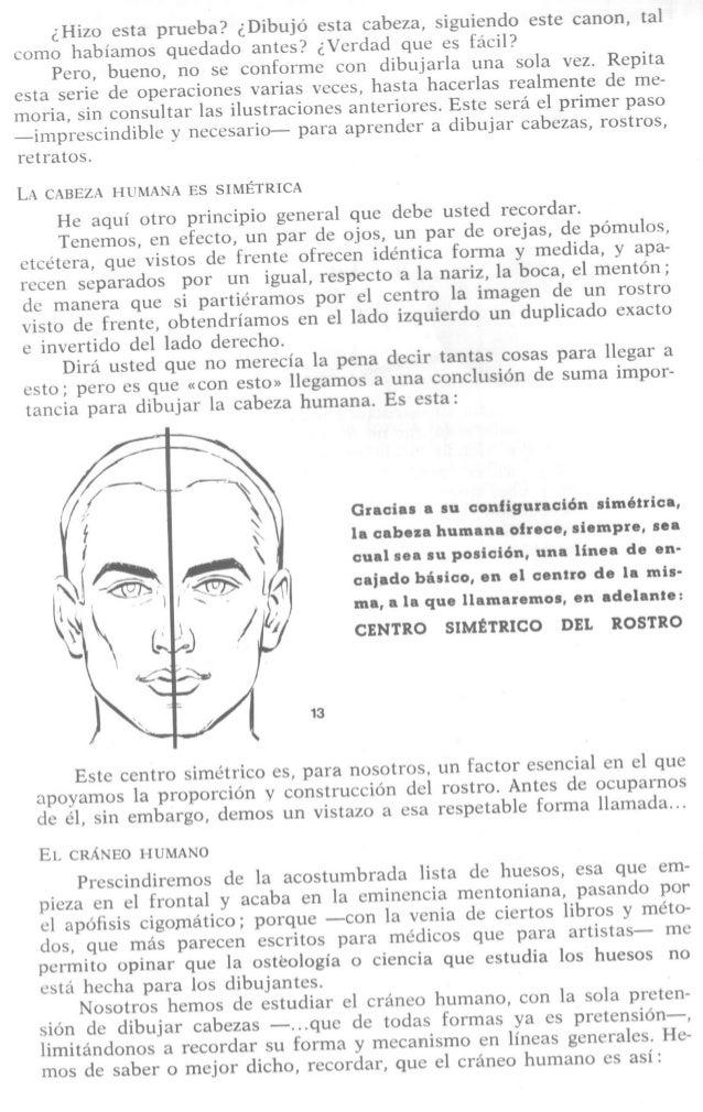 ¿Hizo esta prueba?  ¿Dibujo esta cabeza,  siguiendo este canon,  tal  como habíamos quedado antes?  ¿Verdad que es fácil? ...