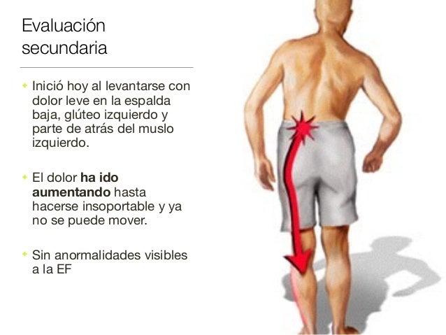 El dolor a la deglución da en la espalda