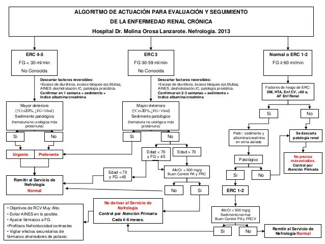 ALGORITMO DE ACTUACIÓN PARA EVALUACIÓN Y SEGUIMIENTO                                                            DE LA ENFE...