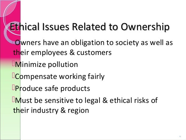 major concerns of ethical issues This paper presents over 30 significant ethical issues that remain unresolved   some of the easier problems (in my mind) involve the more individual issues.