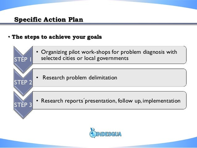 need and action steps An action plan consists of a number of action steps or changes to be brought   you certainly don't want to fail, it makes sense to take all of the steps necessary to .