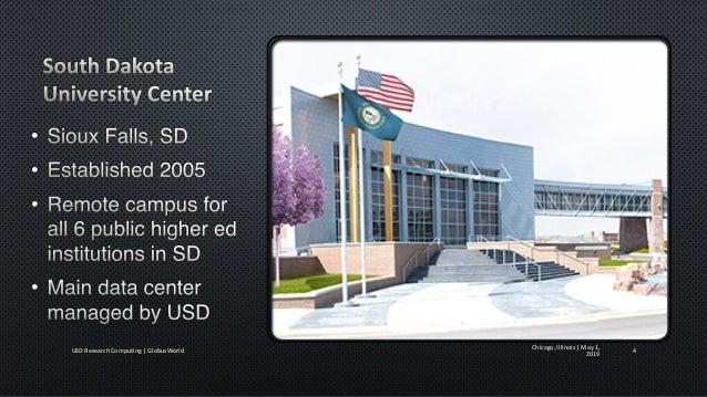 • • • • Chicago, Illinois   May 1, 2019USD Research Computing   GlobusWorld 5