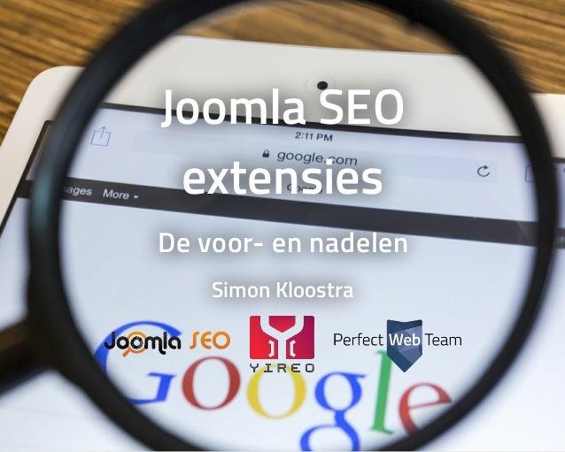 JoomlaSEO extensies Devoor-ennadelen SimonKloostra