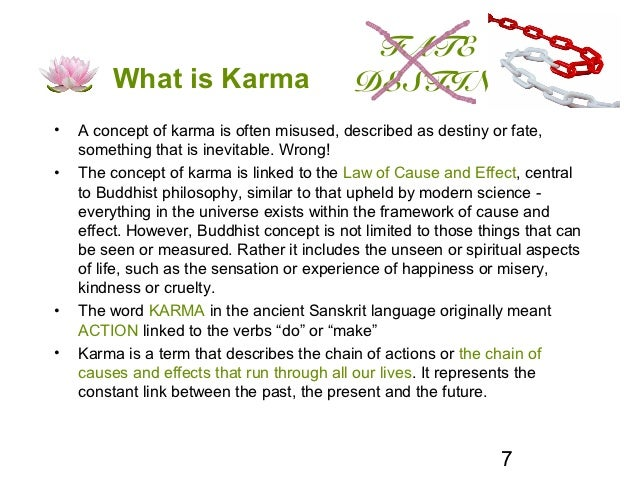 fate what is karma destiny a concept of karma is