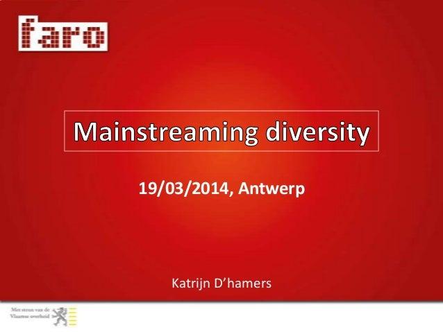Katrijn D'hamers 19/03/2014, Antwerp