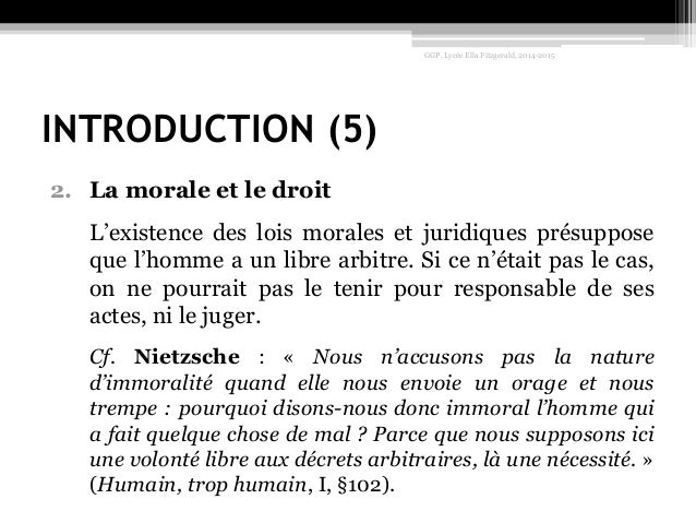 Dissertation philosophie conscience morale