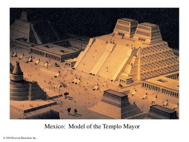 © 2010 Pearson Education, Inc. Mexico: Model of the Templo Mayor