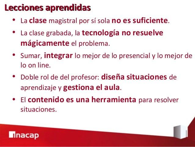 Dr. Mario Vásquez Astudillo mvastudillo@inacap.cl Experiencia de implementación de un modelo pedagógico para el uso de TIC...