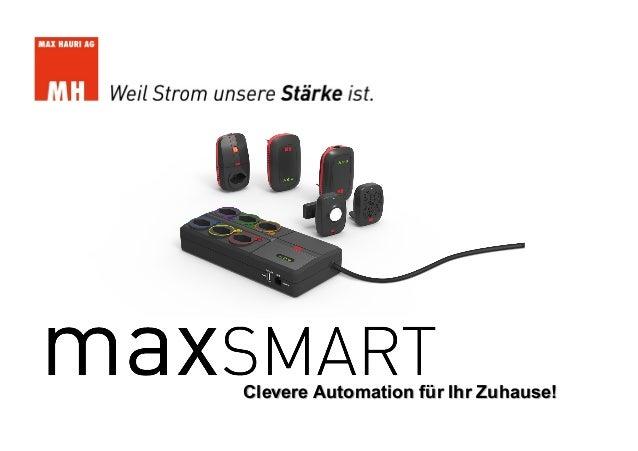 Clevere Automation für Ihr Zuhause!