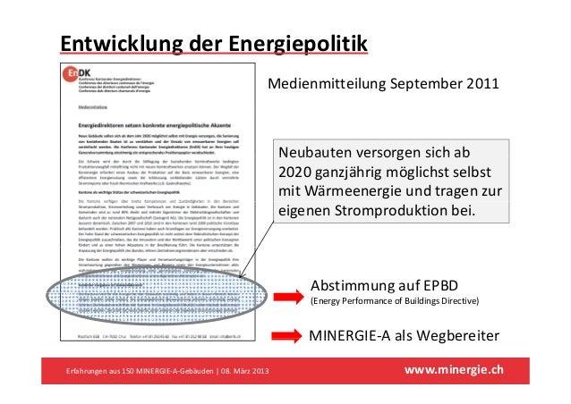 EntwicklungderEnergiepolitik                                                       MedienmitteilungSeptember2011      ...