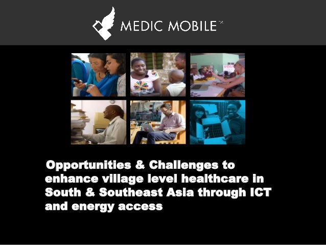 'Opportunities & Challenges to enhance village level healthcare in South & Southeast Asia through ICT and energy access