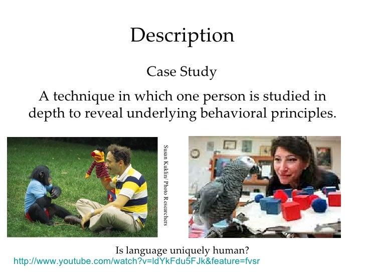 Case Study on Development/Life Span