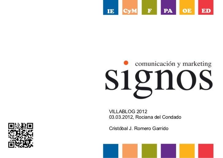 VILLABLOG 201203.03.2012, Rociana del CondadoCristóbal J. Romero Garrido