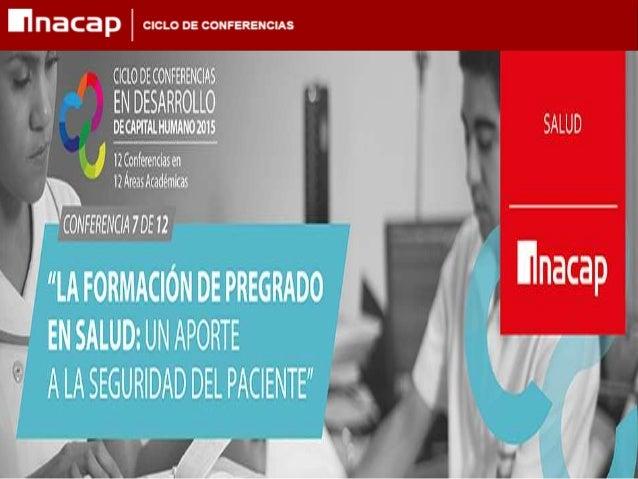 GESTIÓN DE LA SEGURIDAD DE LOS PACIENTES NALDY FEBRE V. Ph.D • Enfermera • Doctora en Ciencias de la Salud / Epidemiología...
