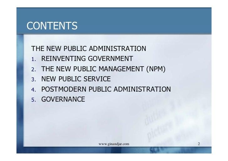 Public service management essay