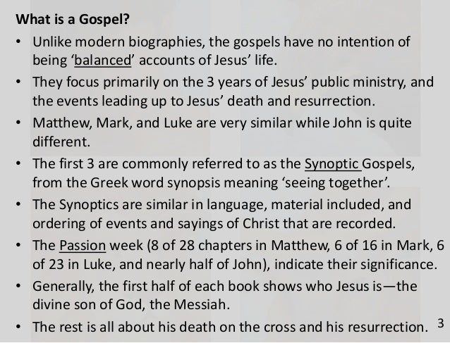 """an introduction to the mythology of the gospels of the new testament Professor of new testament  """"charts on the book of revelation is a useful tool for teachers and a helpful guide for students to  , the synoptic gospels."""