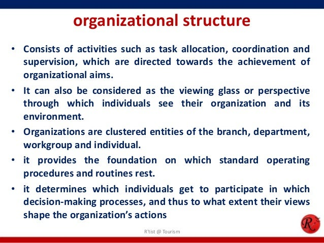 how to develop organizational structure