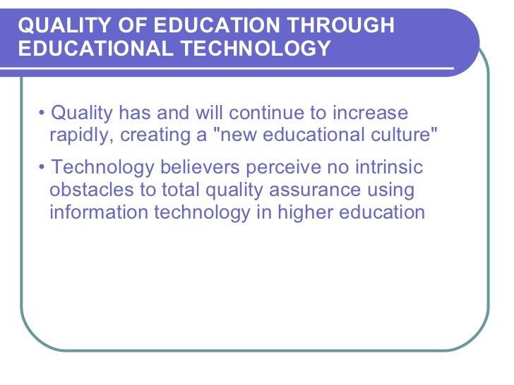 03-Quality Education Through ET Slide 2