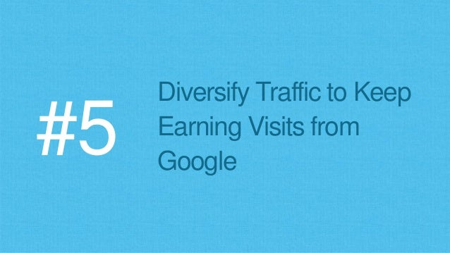 Google Knows Where Traffic Flows on the Web (mobile and desktop) Together we see all… We know all… There is no escape…