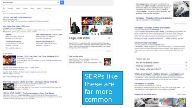 Infuriatingly, Google's restricted who can appear in certain types of listings (e.g. video is now YouTube or Vimeo