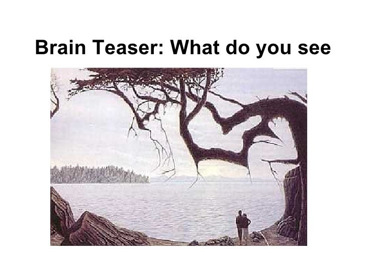 Brain Teaser: What do you see